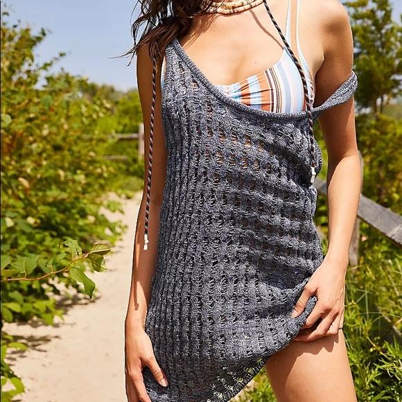 NWT FP beach cover up dress / tunic